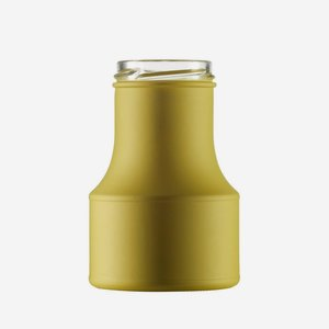 Dressing bottle 275ml, green, finish: TO 53