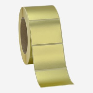 Label 50x65mm, gold matt