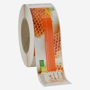 label BIO AUSTRIA honey large, 58x200mm