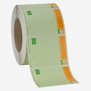 labels BIO AUSTRIA, rectangular