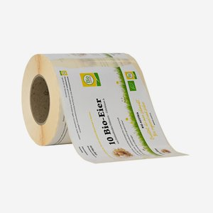 "label for egg carton - 10 eggs ""Bio Austria"""