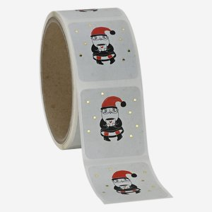 "Label ""Santa Claus"" 39x43mm"