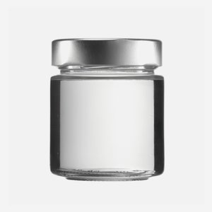 Cylindrical jar FACTUM 154ml, white, mouth: TO58DE