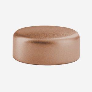 Alum-Synthetic material-Screw cap GPI 33, copper