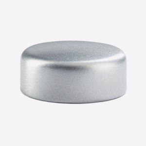 Alum-Synthetic material-Screw cap GPI 33, silver