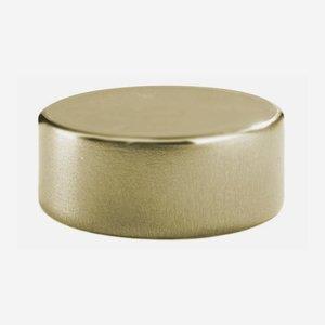 Alum-Synthetic material-Screw cap GPI 28, gold