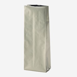 Vacuum coffee bag 500g, silver, without valve