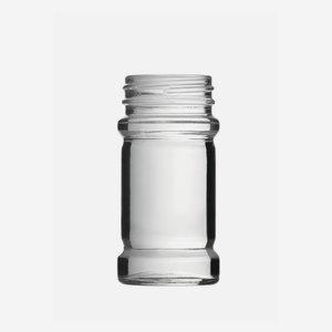 Spice jar 75ml, white