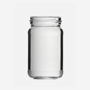 Cylindrical high jar 106ml, white, mouth: TO 48