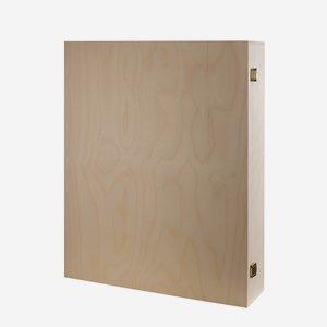 Classic wooden present case
