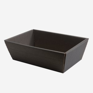 Present cardboard box bowl eCo-wave, black