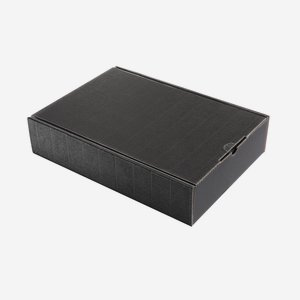 Present cardboard box eCo-wave, black