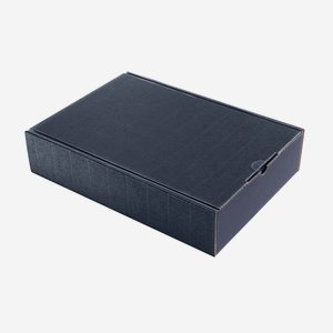 Present cardboard box eCo-wave, midnight blue