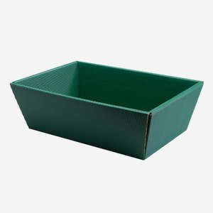 Present cardboard box bowl eCo-wave, green