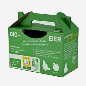 "Cardboard Carrier for eggs ""Bio Austria"""