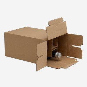 Packaging carton for 6 bottles Dor-500