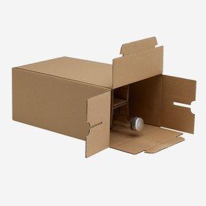 Packaging carton for 6 bottles Beg-350