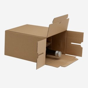 Packaging carton for 6 bottles Gou-506