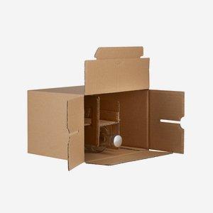 Packaging carton for 6 bottles Viv-350GPI
