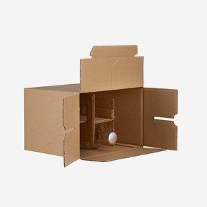 Packaging carton for 6 bottles Viv-500GPI