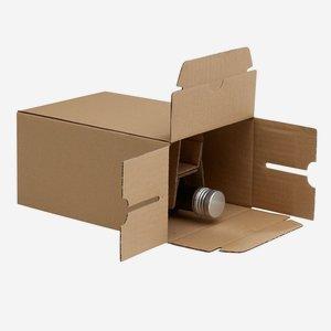 Packaging cardboard box for 6x0,25l Marasca bottle