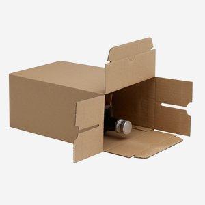 Packaging cardboard box for 6x0,5l Marasca bottle