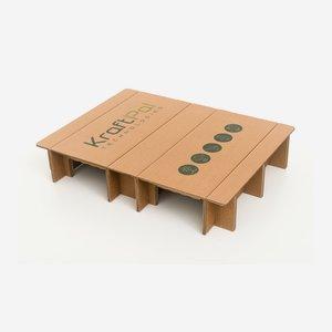 Cardboard pallet  600x800x147 mm
