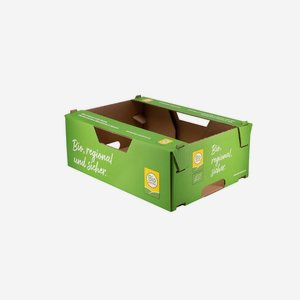 "Vegetable, fruit cardboard ""BIO AUSTRIA"""