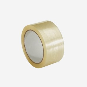 Adhesive tape, transparent