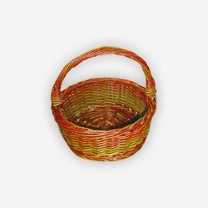 """Wicker basket """"SAHRA"""", plaited, round"""