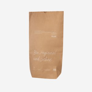 """Cross bottom bag, 25kg, """"Bio Austria"""""""