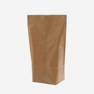 Cross bottom bag 3 kg, brown natural