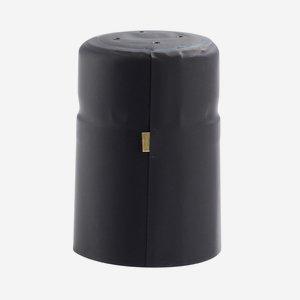 Shrink capsule ø25 x H40mm, black matt