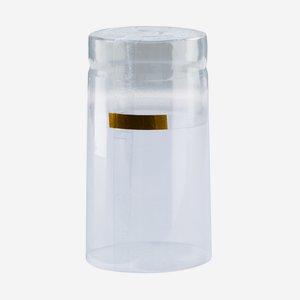 Shrink capsule ø31 x H60mm, transparent
