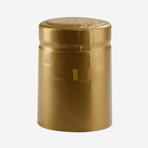 Shrink capsule ø32,8 x H50mm, matt gold