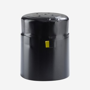 Shrink capsule ø35 x H45mm, matt black
