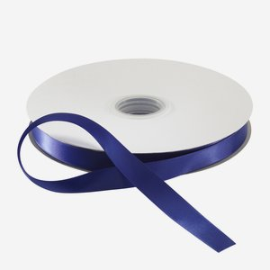 Satin ribbon blue, suitable for hot-foil stamping