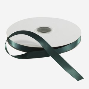 Satin ribbon green, suitable for hot-foil stamping