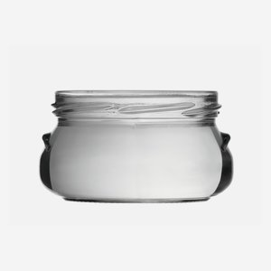 Terrine jar 228ml, white, finish: TO 82