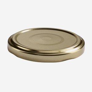 Twist Off Cap, ø66mm, gold