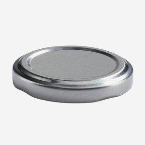 Twist Off Cap, ø53mm, silver