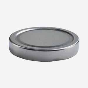 Twist Off Cap, ø82mm, Deep, silver, C864