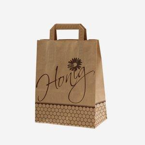 """Beekeeper carrier bag """"Honig"""" (honey)"""