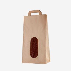 Potato carrier bag 5kg, brown, neutral