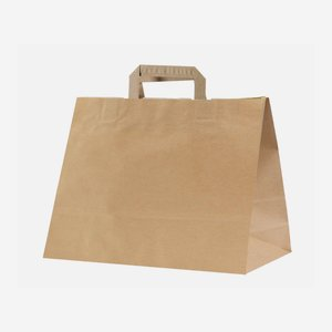 Carrier bag brown, neutral
