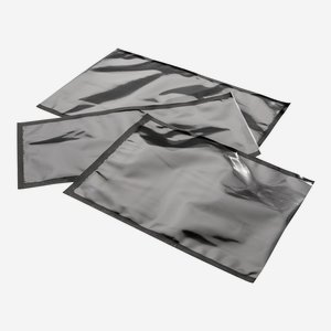 Vacuum bag black, 90µ, PA/PE-side sealed bags