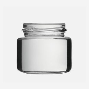 Cylindrical Jar 108ml, white, wide mouth: TO 53