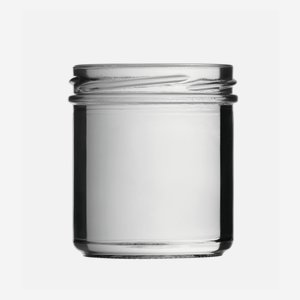 Cylindrical Jar 167ml, white, wide mouth: TO 66