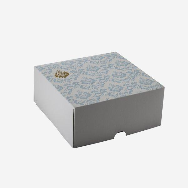food box small, L220 x W220 x H100mm