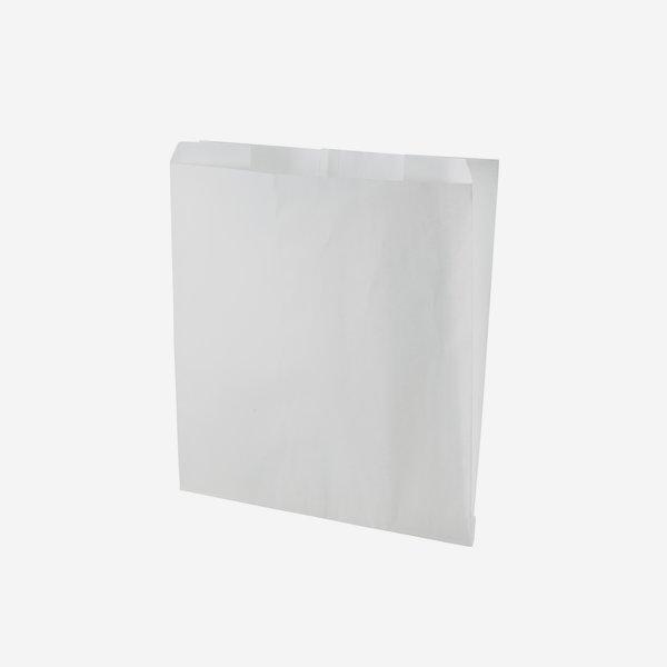 Side gusset bag, greaseproof paper